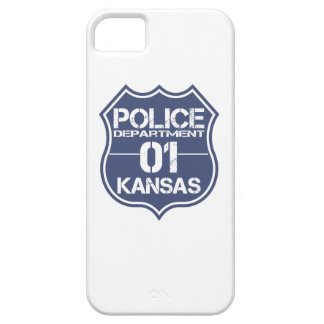 Kansas-Polizeidienststelle-Schild 01 iPhone 5 Hüllen