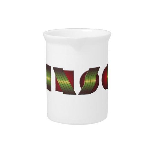 KANSAS (Punkt von kennen Rückholfarben) Getränke Pitcher