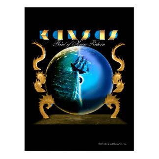 KANSAS - Punkt von kennen Rückkehr (2007) Postkarte