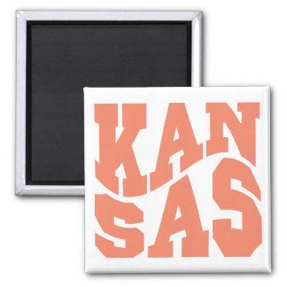Kansas Quadratischer Magnet