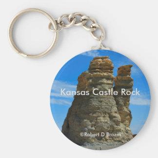 Kansas-Schloss-Felsen-Schlüsselkette Schlüsselanhänger