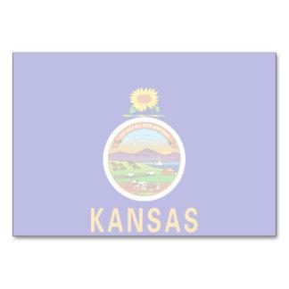 Kansas-Staats-Flagge Karte