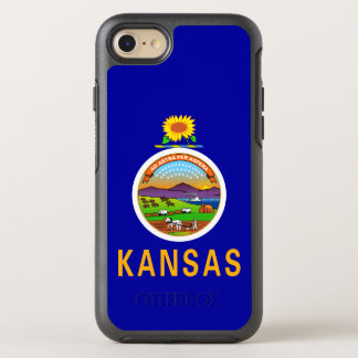 Kansas-Staats-Flagge OtterBox Symmetry iPhone 8/7 Hülle