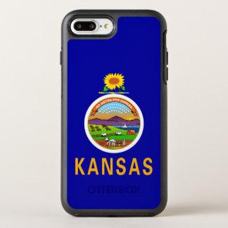 Kansas-Staats-Flagge OtterBox Symmetry iPhone 8 Plus/7 Plus Hülle