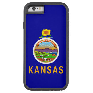 Kansas-Staats-Flagge Tough Xtreme iPhone 6 Hülle