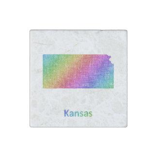 Kansas Steinmagnet