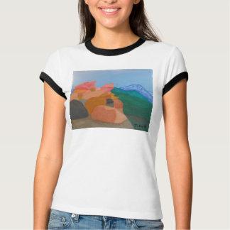 Kante des WeltShirts durch Julia Hanna T-Shirt