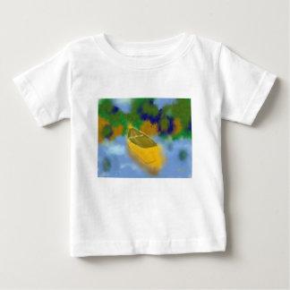 Kanu in der Wasser-Kunst Baby T-shirt