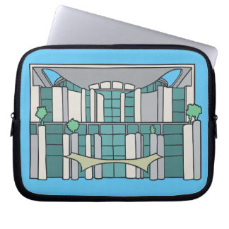 Kanzleramt in Berlin Laptop Sleeve