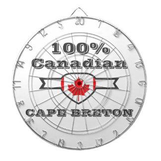 Kap-Bretone 100% Dartscheibe