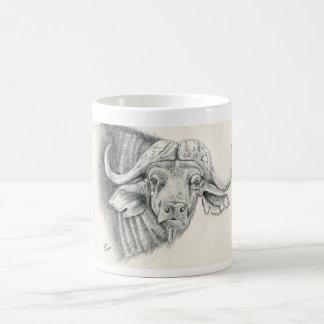 Kap-Büffel-Tasse Kaffeetasse