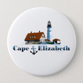 Kap Elizabeth. Runder Button 10,2 Cm