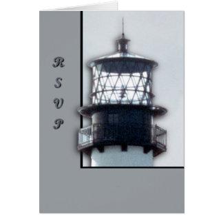 Kap-Florida-Leuchtturm Karte