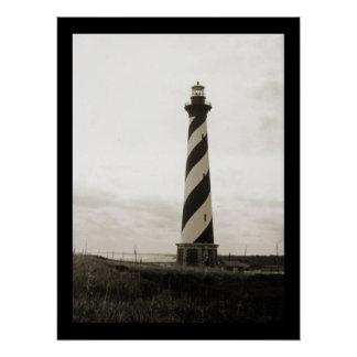 Kap Hatteras Leuchtturm Poster