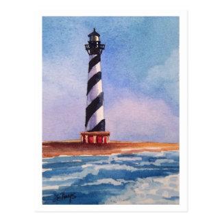Kap Hatteras Leuchtturm-Postkarte