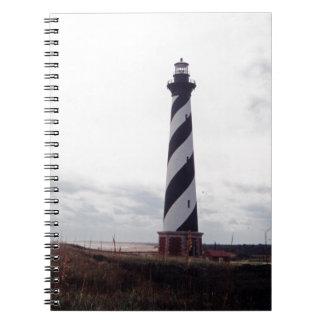 Kap Hatteras Leuchtturm Spiral Notizblock