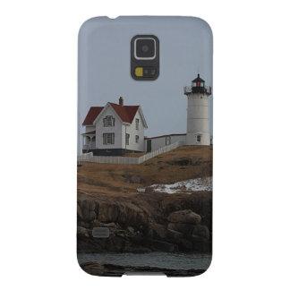 Kap Neddick/Klumpen-Licht im Winter Samsung Galaxy S5 Hülle