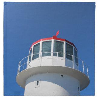 Kap-Punkt-Leuchtturm Südafrika Stoffserviette