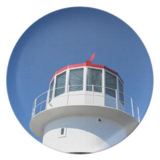 Kap-Punkt-Leuchtturm Südafrika Teller
