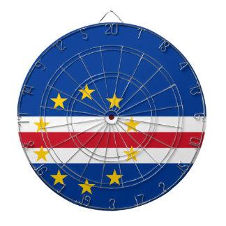 Kap-Verde Flagge Dartscheibe