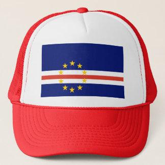 Kap-Verde Flagge Truckerkappe