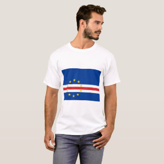 Kap-Verde nationale Weltflagge T-Shirt