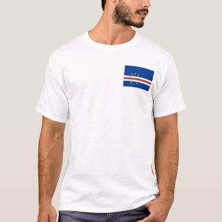 Kap-Verde nationale Weltflagge T-Shirt