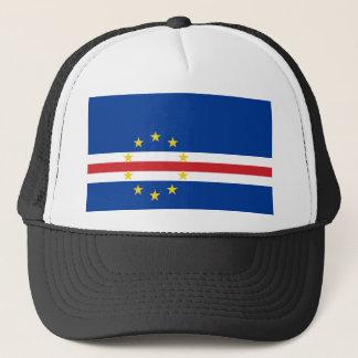 Kap-Verde nationale Weltflagge Truckerkappe