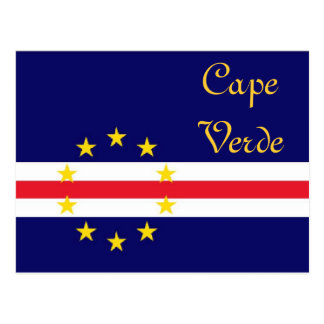 Kap-Verde Postkarte