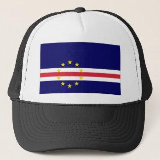Kap-Verde Staatsflagge Truckerkappe