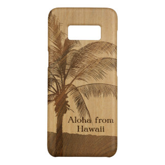 Kapaa Sonnenuntergang-hawaiisches Imitat Koa Holz Case-Mate Samsung Galaxy S8 Hülle