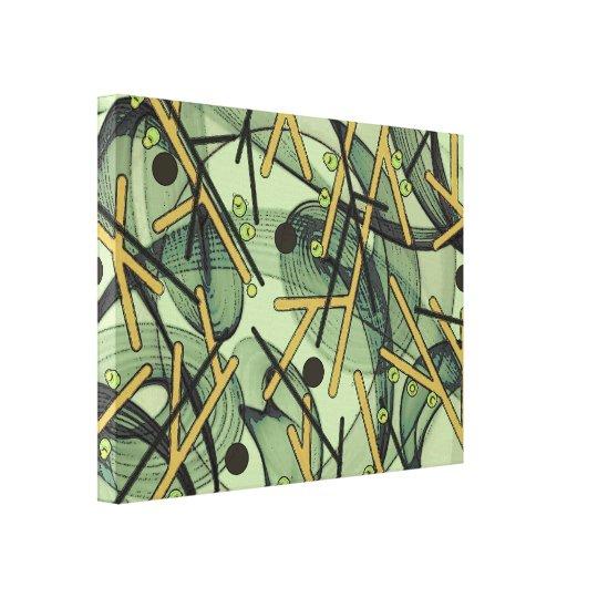 Kapella - abstrakt leinwanddruck