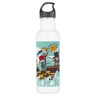 kapert Illustration Trinkflaschen