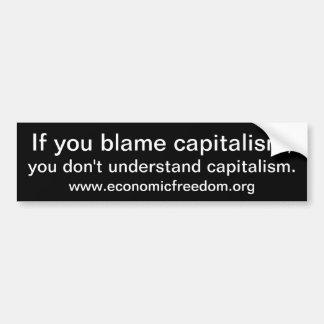 Kapitalismus Autoaufkleber