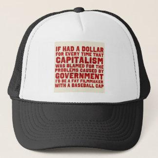 Kapitalismus ist nicht eine schlechte Sache! Truckerkappe
