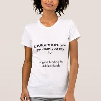 Kapitals-Öffentlichkeits-Bildung T-Shirt