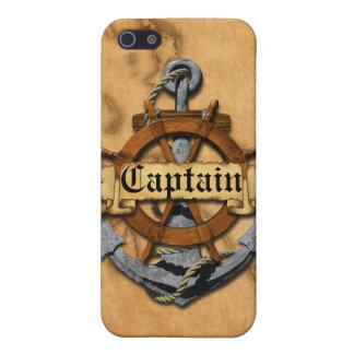 Kapitän Anchor und Rad iPhone 5 Cover