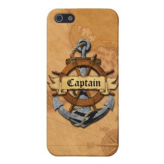 Kapitän Anchor und Rad iPhone 5 Schutzhülle