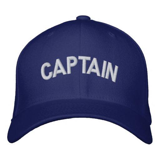 Kapitän Bestickte Baseballcaps