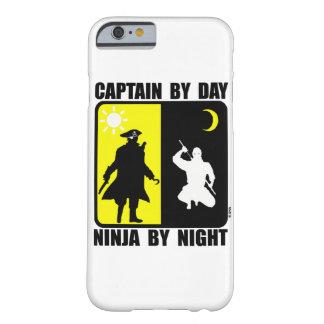 Kapitän bis zum Tag, ninja bis zum Nacht Barely There iPhone 6 Hülle