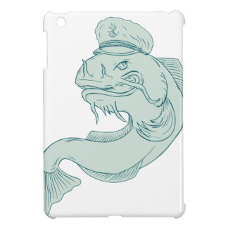 Kapitän Catfish Drawing iPad Mini Hülle