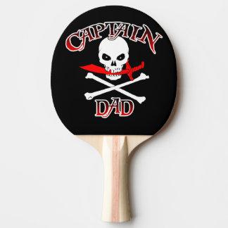 Kapitän Dad Ping Pong Paddle Tischtennis Schläger