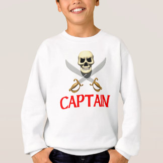Kapitän des Piraten-3D Sweatshirt