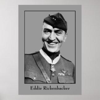 Kapitän Eddie Rickenbacker Poster