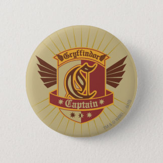 Kapitän Emble Harry Potter-| Gryffindor QUIDDITCH� Runder Button 5,1 Cm