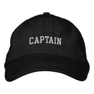 Kapitän Embroidered Hat Bestickte Baseballkappe