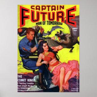 Kapitän Future -- der Kometen-König Poster