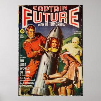 Kapitän Future -- die verlorene Welt der Zeit Poster