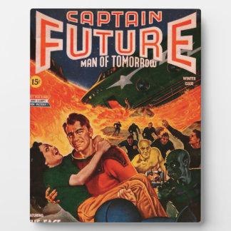 Kapitän Future und der Vulkan Fotoplatte