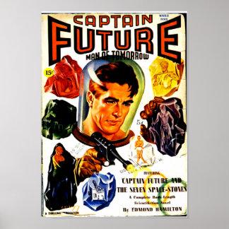 Kapitän Future und die sieben Spacestones Poster